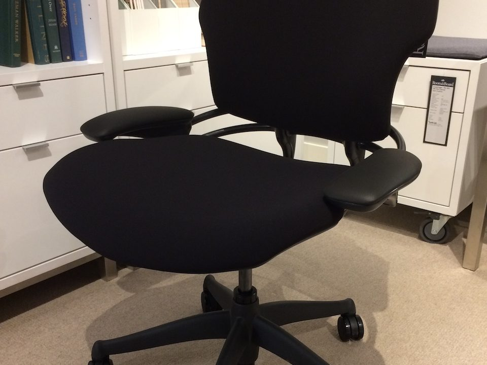 Humanscale Freedom Chair lowered armrests